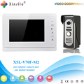 Xinsilu V70F-M2 Doorbell Camera With 4.3inch Door Viewer Indoor Monitor Out Door Phone Bell Video Photo IR Voice Unlock