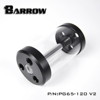 Barrow 50 240MM Cylindrical Water Tank Water Cooled Radiator Acrylic POM Material Long Section Water Tank