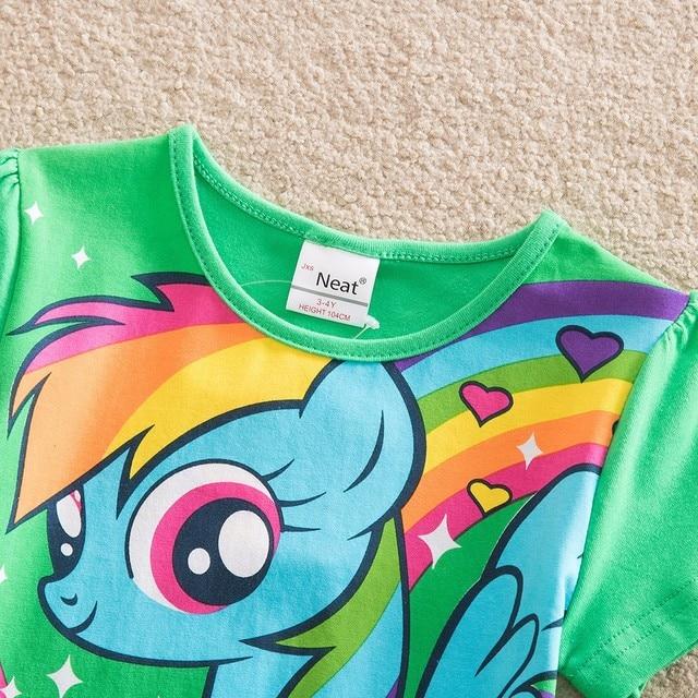 Unicorn Rainbow Casual Dress