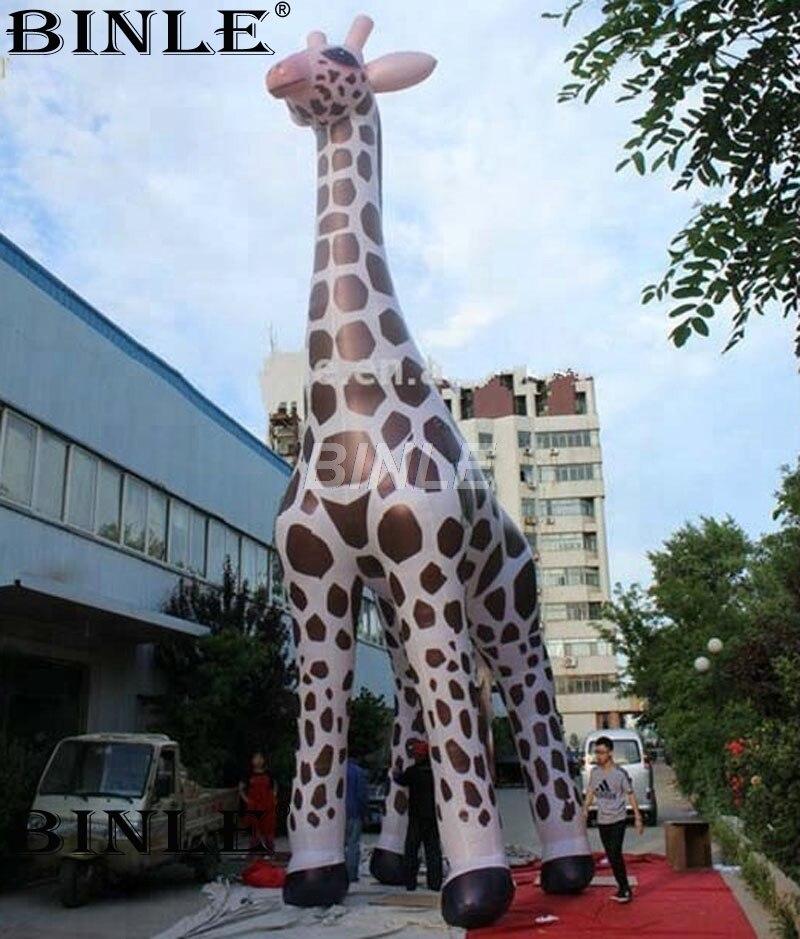Hot Sale Giant Inflatable Giraffe cartoon animal balloon for Outdoors Promotion animal футболка animal outdoors f94 s