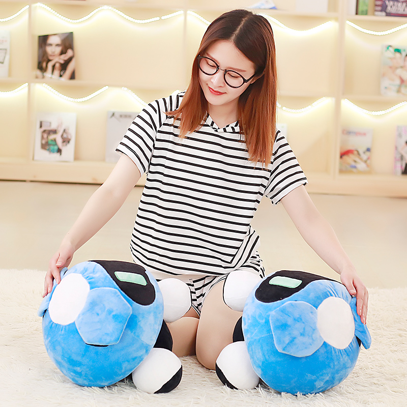 1pc 40cm Overwatches Blizzcon Mei Plush Pillow Dolls Cartoon OW Cosplay Stuffed Plush Toys Cushions Gifts 4