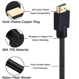 Image 4 - Lungfish Long HDMI Cable 5m 7.5m 10m 15m 20m Cable HDMI 1080P 3D for Splitter Switch PS4 LED TV Box xbox Projector Computer