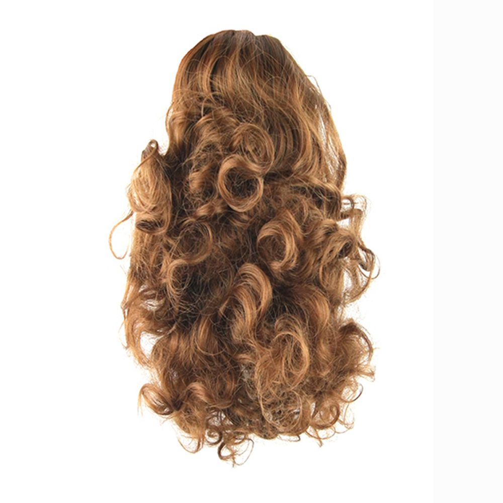 Soowee High Hairpiece Curly Ponytails Synthetic Hair Ponytail Hair Extensions Hair Bun Pony Tail