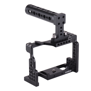 Image 5 - Andoer Video Film Movie Making Stabilizer Top Handle Camera Cage for Sony A7II/A7III/A7SII/A7M3/A7RII/A7RIII Camera