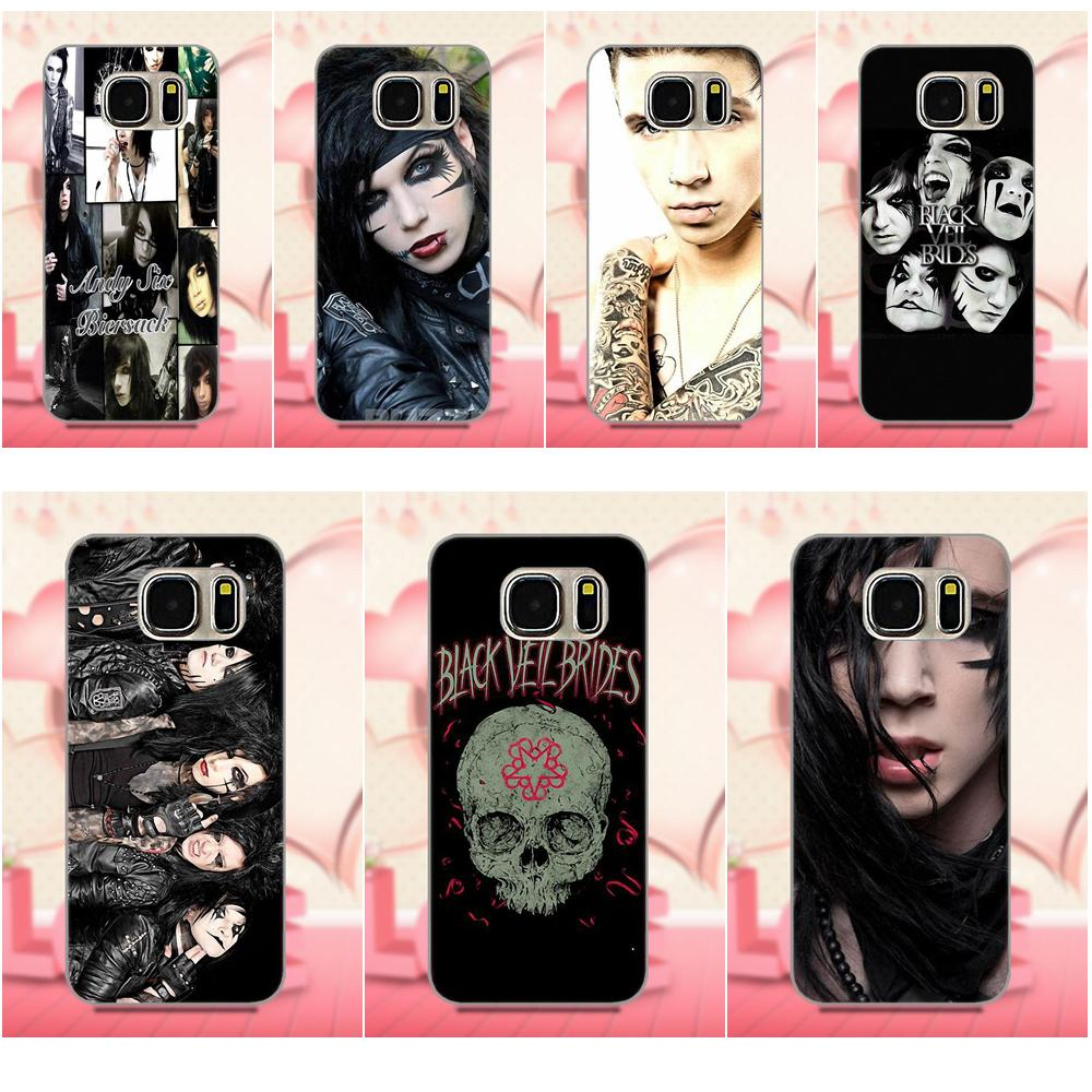 TPU Mobile Phone For Apple iPhone 4 4S 5 5C 5S SE 6 6S 7 8 Plus X For LG G3 G4 G5 G6 K4 K7 K8 K10 V10 V20 Black Veil Brides