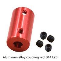 Alüminyum Alaşımlı Kaplin Delik 5mm 8mm 3D Yazıcılar Parçaları kırmızı esnek şaft Bağlantı Elemanı Vidası Parçası Step Motor Aksesuarları|Şaft Kaplinleri|Ev Dekorasyonu -