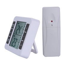 Yooap High Quality Indoor Outdoor Digital Thermometer Standing Wall Hanging Weather Station Wireless Hygrometer