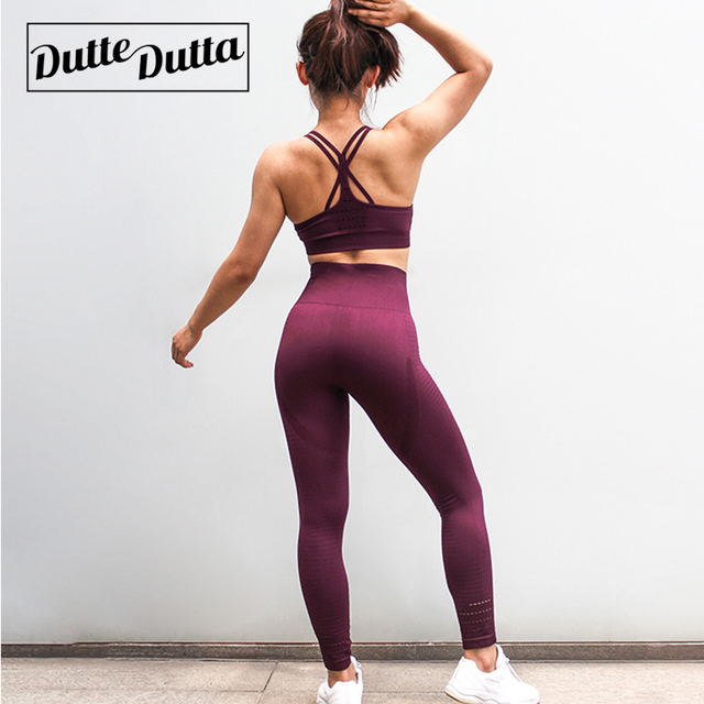 38350c083 Women's Sports Suit Female Sportswear For Woman Gym Fitness Clothing Women  Sport Wear Clothes Sporty 2 Piece Set Leggings
