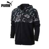 Authentic New Arrival PUMA AOP PUMA Rebel FZ Hoody Breathable Men S Jacket Hooded Sportswear