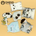OMENG  Cute Cat Dog Acrylic  Badge Cartoon Icons Backpack Brooch Pins,Fashion Jewelry  shirt enamel pin OXZ121