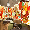 Beibehang Large Custom 3D Wallpaper Hand Painted Japanese Ramen Hotel Snack Bar Restaurant Decorative Painting