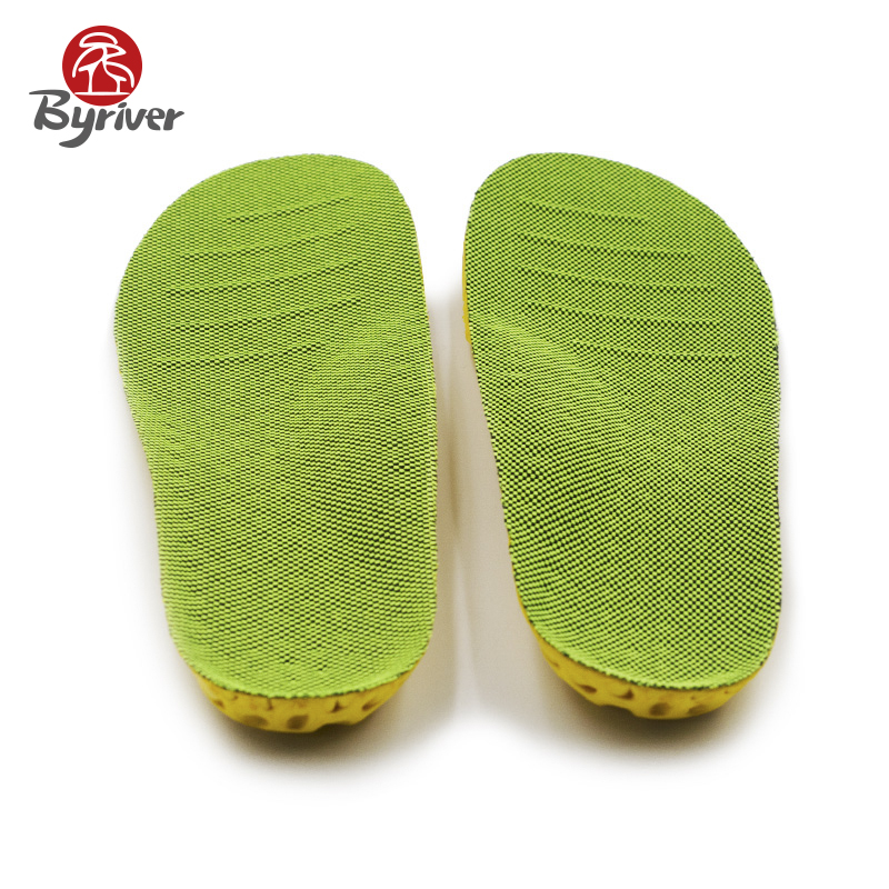 BYRIVER Flat Feet Arch Shock Absorber Breathable Perspiration Advanced Climbing Sports Massage Insole