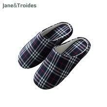 Printemps Automne Accueil Hommes Pantoufles Doux Plaid Casual Confortable Flip Flops Chambre Intérieur Sandales En Plein Air Mode Hommes Chaussures