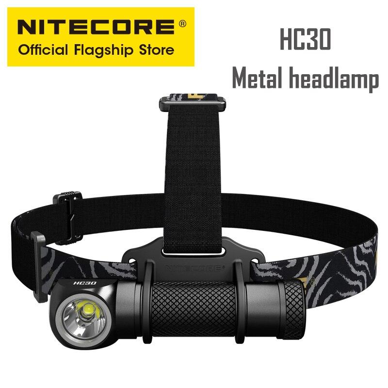 NITECORE HC30 Point Culminant led En Plein Air Rotatif Amovible à Double Usage Lampe Frontale Légère