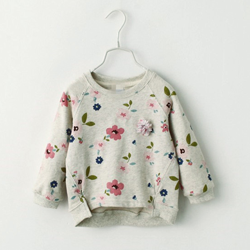 Autumn Girls Sweatshirt Children's Winter T-shirt Casual Fashion Kids Pullover Blouse Tops Tees Full Sleeve Baby Girl Clothes yg71034045 winter baby blouse for girls blouse flower fleece worm full sleeve girls tops floral fashion girls clothes kids shirt