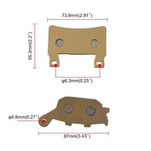 Image 4 - 6 חתיכות דיסק בלמי אופנוע חלקי טמפרטורה גבוהה בלם Pad חריץ עבור CBR 600 F4 F4i אופנוע אבזרים
