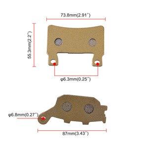 Image 4 - 6 قطع الجبهة والخلفية فرامل قرصية قطع الغيار للدرجة النارية ارتفاع درجة الحرارة الفرامل الوسادة الأخدود ل CBR 600 F4 F4i دراجة نارية الملحقات