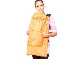 2016 Winter Ergonomic Baby Carrier Backpack Sling Waterproof Thinken Cloak Warm Cover Infant Toddler Wrap Multi