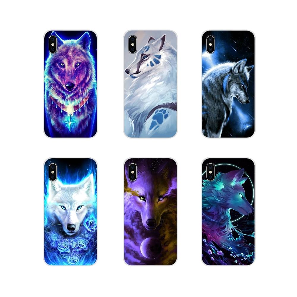 Shell-Covers Pocophone-F1-Accessories Xiaomi Mi6 Redmi Lion-Wolf A1 Note-5 Animal