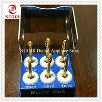 Корея зубной имплантат инструменты/Mini Diamond Burr Набор/зубные круглым бором имплантатов инструментов/имплантация комплект