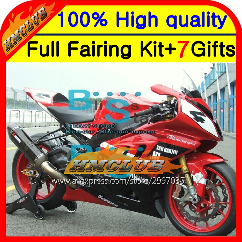 Body For BMW S1000R 09-14 Red black S 1000R S1000RR 2HM97 S 1000 RR NEW Red black 09 10 11 12 13 14 S 1000RR S1000 RR Fairing image