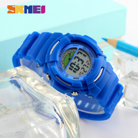 SKMEI New Sports Children Watches Fashion Alarm Watch Kids Back Light Waterproof Boy Digital Wristwatches Girl
