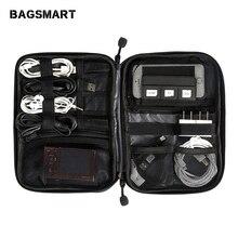BAGSMART электронный интимные аксессуары сумки Travel Organizer для SD карты телефон Dater кабели наушники USB цифровой сумка организовать чехол