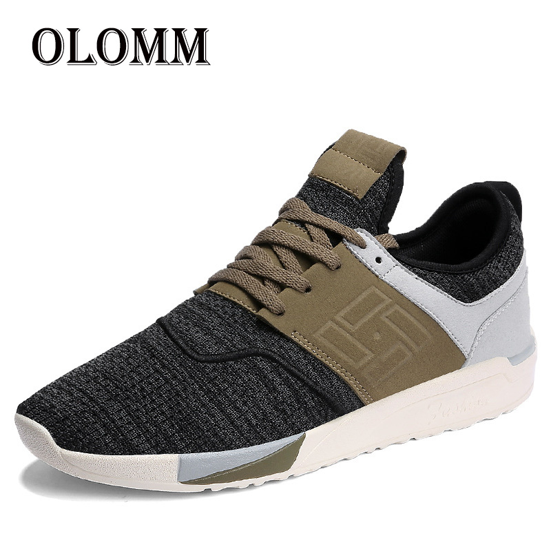Fashion Casual Men's Shoes Breathable Lightweight Men's Sports Shoes Low To Help Non slip Tennis Shoes Comfortable Running Shoes
