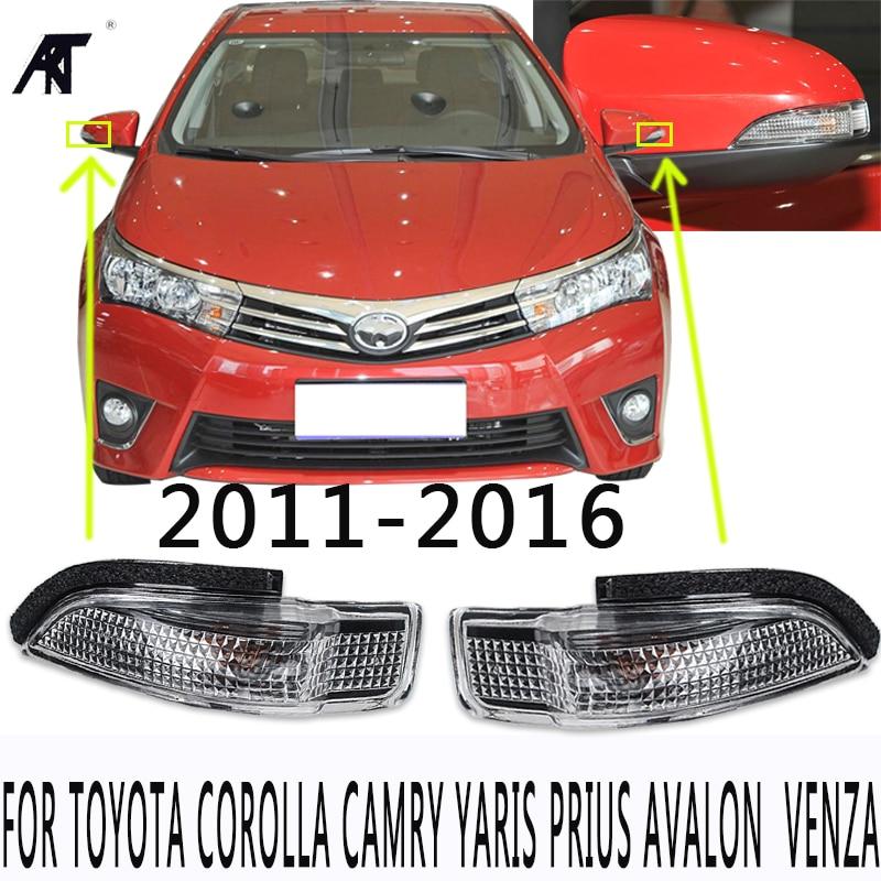 For Toyota Corolla 2014-18 RH Passenger White Power Heated Turn Rearview Mirror