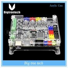 5 шт. Новое Поступление Материнская Плата Прозрачный Ясно Shell Control Board Acrylic Case Box для BIQU БАЗЫ V1.0 3d принтер части