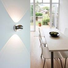 YooE Wall Lamp 4W LED Mirror Light AC110V/220V Modern Wall Sconce Indoor Lighting Living Room Bedroom Bedside Wall Light