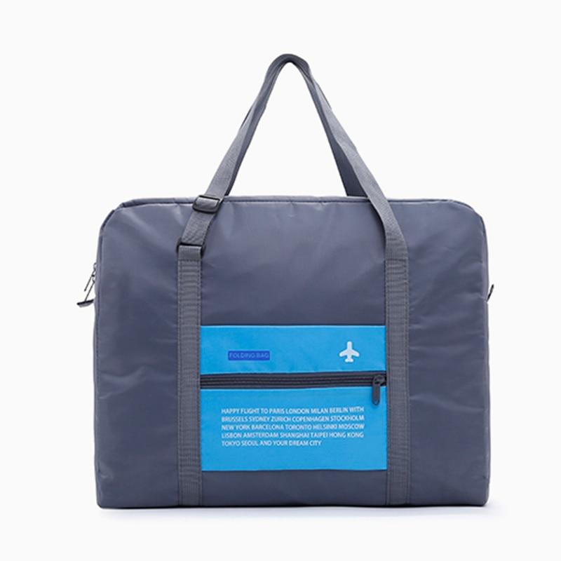 2018 Fashion WaterProof Travel Bag Large Capacity Bag Women Nylon Folding Bag Unisex Luggage Travel Handbags Unisex Travel Bags unisex 160