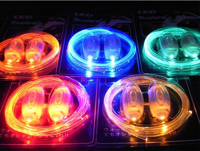 2018 New Arrival Costume Leds 35pairs lot Bling For Led Shoelaces ... 3876bd45a233