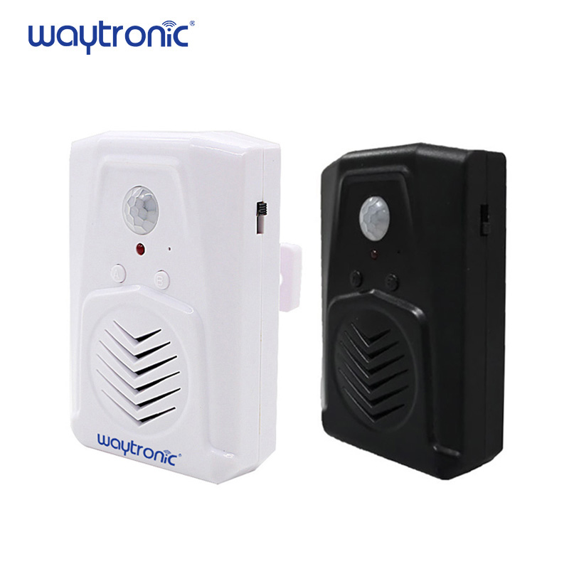 Audio Downloadable Mini PIR Motion Sensor Activated Music Sound Player Loudspeaker For Safety Voice Reminder