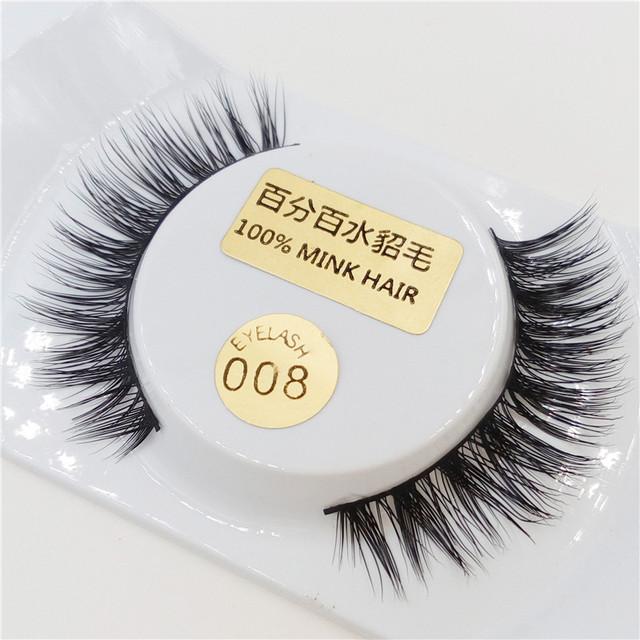 12 pcs cabelo vison luxuoso eye lashes cruzado handmade eye lashes beauty cosméticos