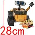 """RC 11 """"28 CM Pixar U COMANDO WALL * E Controle Remoto Do Robô Carro Humanoid Android Robô Infravermelho Modelo Boneca de Brinquedo Figura de Ação Na Caixa"""