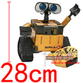 """RC 11""""28CM Pixar U COMMAND WALL* E Remote Control Car Robot Humanoid Android Infrared Robot Toy Action Figure Model Doll In Box"""