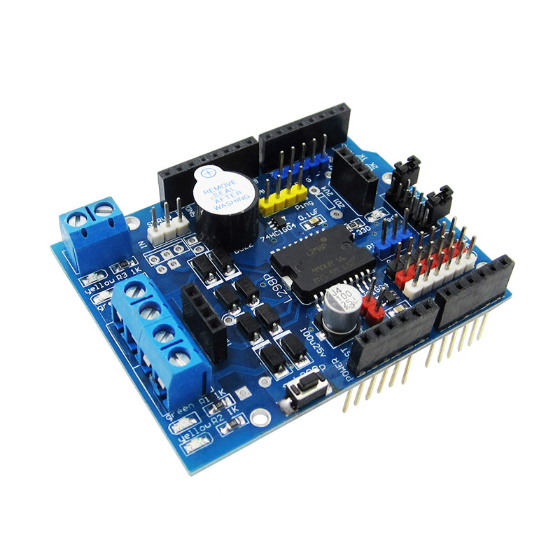 5 шт./лот L298P ШИМ Скорость контроллер двойной высокой Мощность водителя h-мост, <font><b>Bluetooth</b></font> Интерфейс, l298P Двигатель щит для