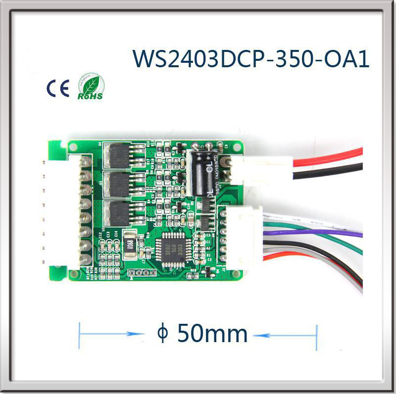 24V stepper motor driver controller Brushless DC Fan motor Driver board Brushless dc motor controller DC motor speed regulator