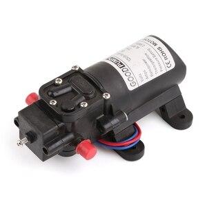 Image 2 - 12V 72W wysokiego ciśnienia mikro membranowa pompa wodna przełącznik automatyczny zarzucanie treści żołądkowej do przełyku/inteligentny typ