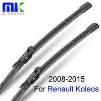 """Mikkuppa Tergicristallo Per Renault Koleos 2008-2015 Coppia 24 """"+ 19"""" del Parabrezza Parabrezza Tergicristallo Auto Auto accessori"""