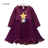 New Baby Girl Dress Spring Autumn Fashion Cute Pure Cotton Long Sleeve Tulle Ball Gown Dresses