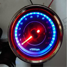 motorcycle gear indicator tachometer speedometer Retro modification free shipping