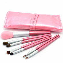 цены Make Up Brushes 7 Pcs Makeup Brushes Superior Soft Cosmetic Brush Set Kit Tools Pincel Maquiagem + Pouch Bag Case