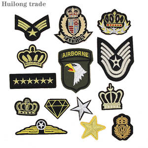 Embroidered cloth sticker Embroidery badge shoulder badge complete decorative paste All kinds of clothing, shoes hats decoration
