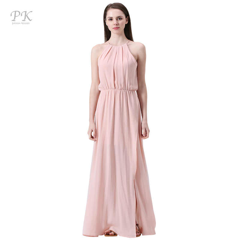 f7f3e8eb9a Detail Feedback Questions about PK pink nude maxi beach party ...