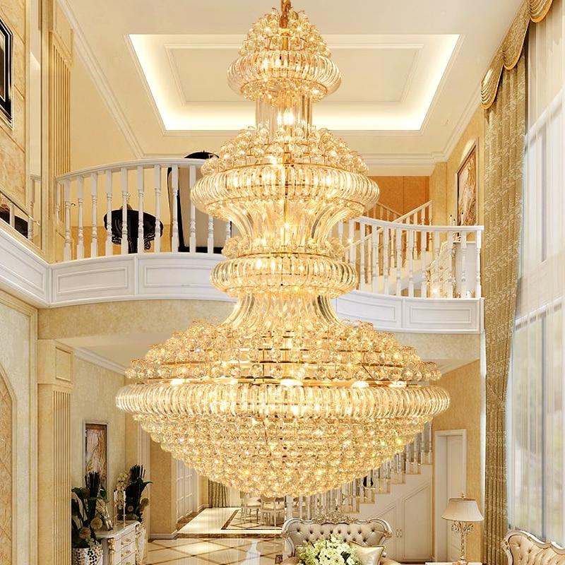 Led Modern Crystal Chandeliers Lighting Fixture American