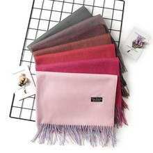 Cashmere and Acrylic Women Scarf and Shawl 200*68