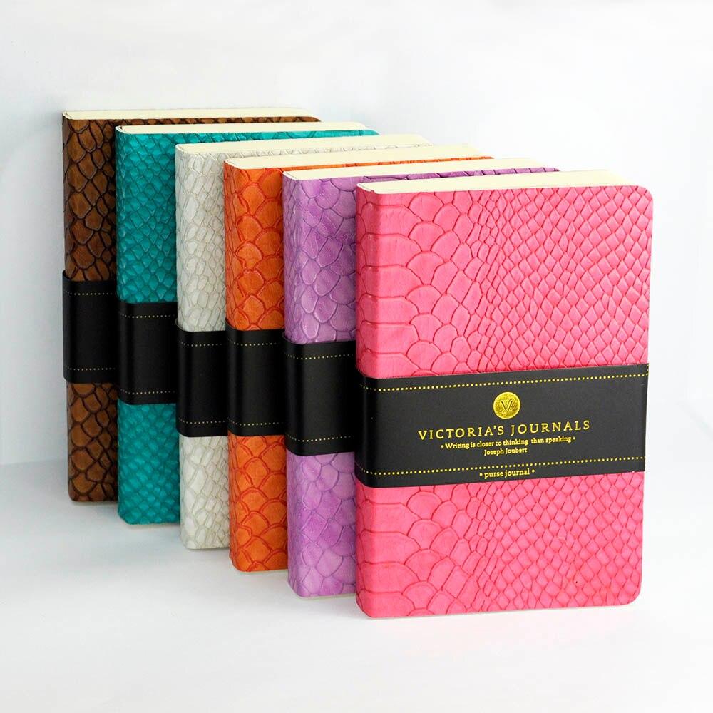 Victoria's Journals KARISMA FLEXY CROC Journal Soft Cover Notebook цены онлайн