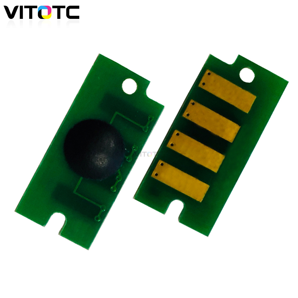 4 x High Yield Toner Reset Chip for Dell c5765dn Color Laser Printer Refill